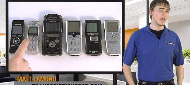 Pro Vs. Consumer Digital Voice Recorders