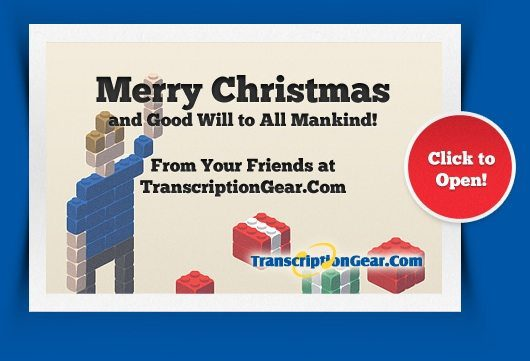 Merry Christmas and Good Will to All Mankind!