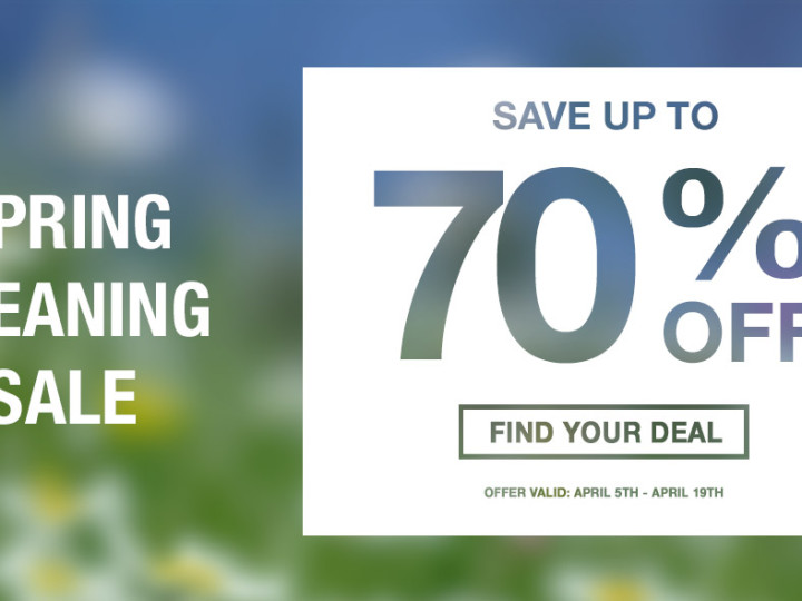 Spring into Savings Clearance Event!
