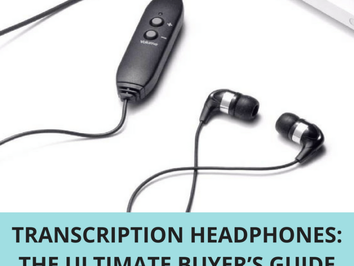 Transcription Headphones: The Ultimate Buyer's Guide