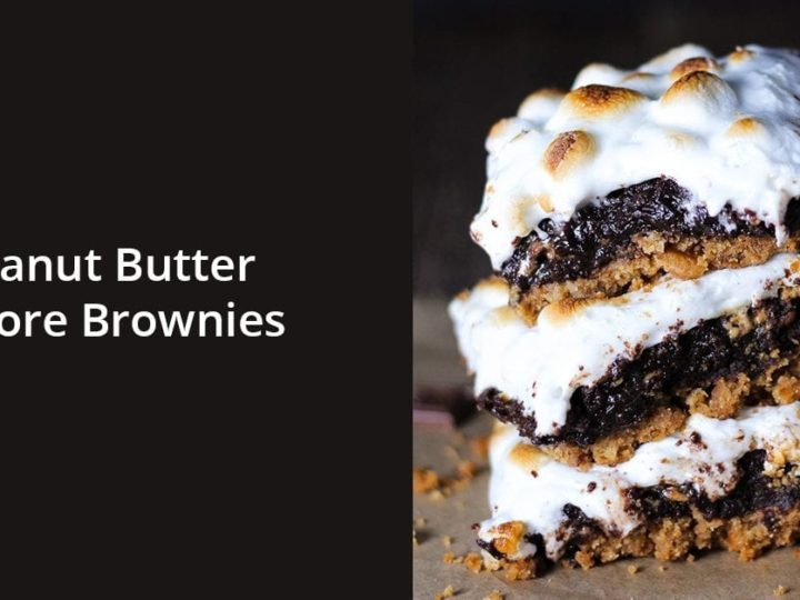 Peanut Butter S'more Brownies